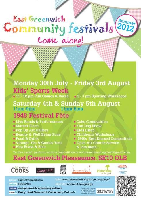 East Greenwich Community Festival 2012